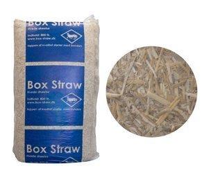 Słoma ściółka dla zwierząt pszenna gruba  z zapachem 24kg - 800l