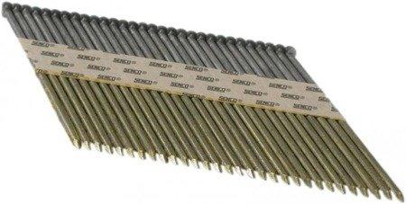 Gwoździe taśmowe łączone papierem 34°/ ø2,8mm /ryflowane/czarne